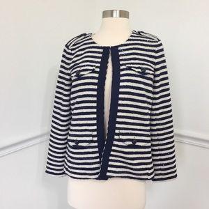 Banana Republic Sequin Stripe Blazer Jacket